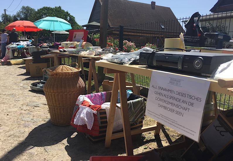 Flohmarkt in Klein Krankow