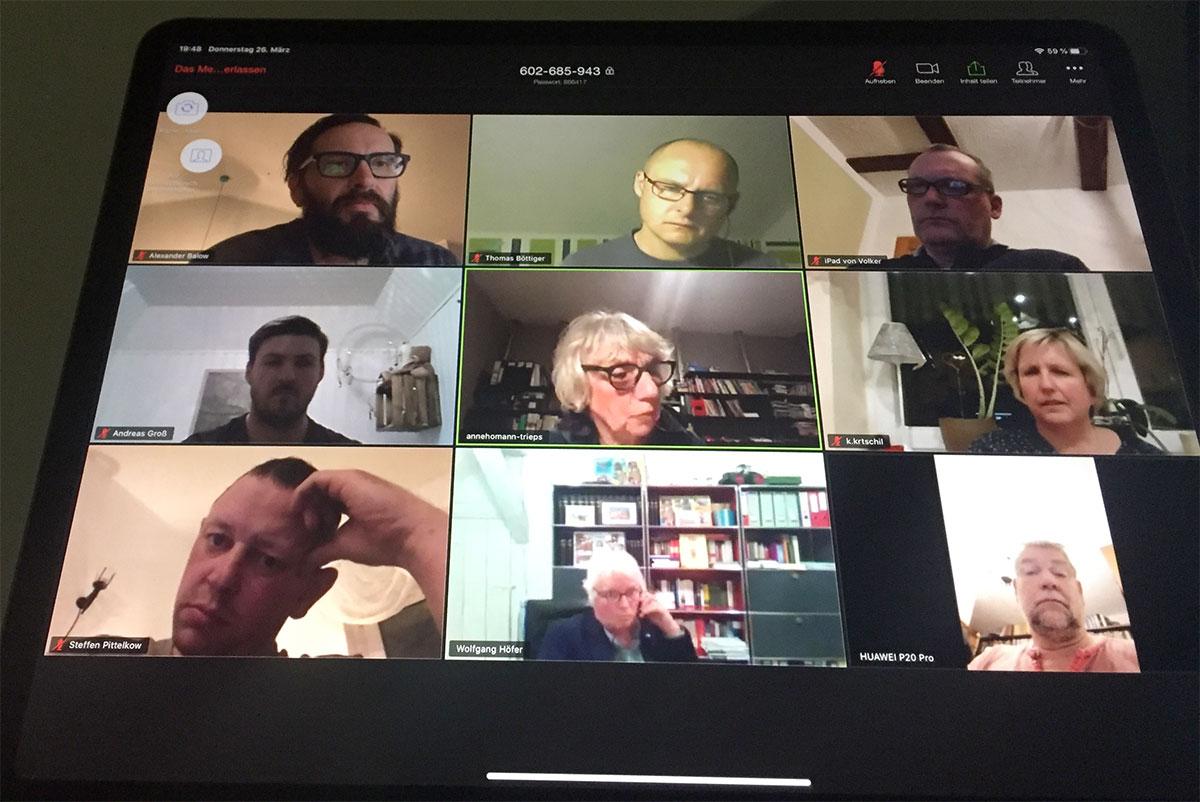 Corona-Krise: Gemeindevertretung trifft sich digital